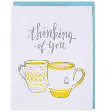 thinking of you cards teatime thinking of you card thinking of you cards smudge ink