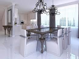 tavolo da sala da pranzo sala da pranzo lussuosa con le sedie progettista e tavolo