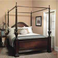 Cheap Canopy Bed Frame Cheap Full Size Canopy Bed Frame Surripui Net