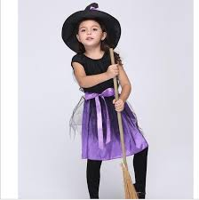 Halloween Witch Costumes Toddlers Cheap Baby Witch Halloween Costumes Aliexpress