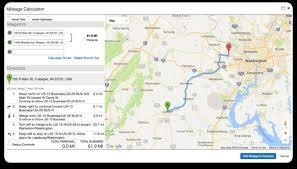 mileage map easy concur mileage log expense reimbursement with the triplog app