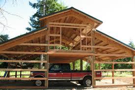 framing a loft for a pole barn