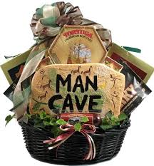 gift baskets for men 18 pc cave munchies gift basket for men with gift plaque