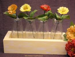 Wedding Flowers Table Decorations The 25 Best Milk Bottle Centerpiece Ideas On Pinterest