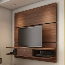 Wood Paneling For Walls by Furniture Wall Mount Entertainment Center In Brown With Wood