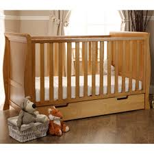 Obaby Crib Mattress Obaby Stamford Sleigh Cot Bed Including Underbed Drawer Country
