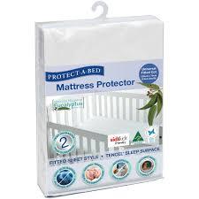 Waterproof Crib Mattress Protector Tencel Cot Mattress Protector Waterproof