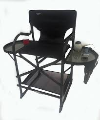 portable makeup chair with side table portable makeup artist chair high quality lighting makeup case with