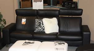 Low Back Sofa by Ekornes Stressless Space Low Back Sofa Loveseat Chair And