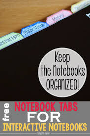 interactive notebook series part one organization u0026 storage