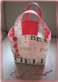 patron couture sac cabas ze sac cabas à emmener partout estel