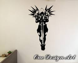 diablo 3 archangels wall decals anime mural arts sticker for zoom