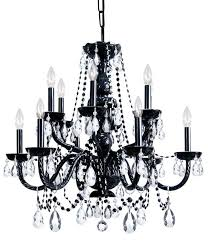 All Crystal Chandelier Amazing Black Crystal Chandelier The Gallery Murano Venetian Style
