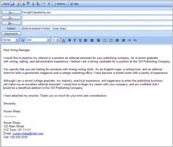 email cover letter cover letter sle for resume email cover letter resume
