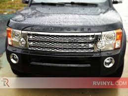 land rover 2009 rtint land rover lr3 2005 2009 headlight tint film