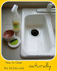 How To Clean The Kitchen Sink How To Clean Kitchen Sink Ordinary Iagitos