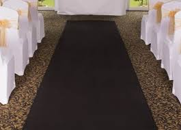 black aisle runner aisle runners other the banqueting hire service