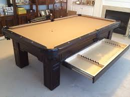 olhausen 7 pool table olhausen huntington with drawer by everything billiards www