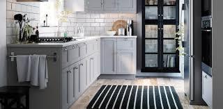 ikea kitchen cabinets gray light gray kitchen cabinets lerhyttan series ikea