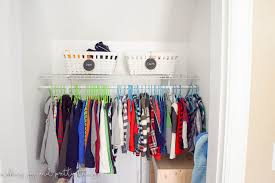 how to organize your kid u0027s closet