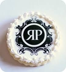 where to print edible images diy monogram cookies using special frosting sheets printed with