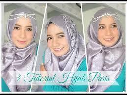 tutorial hijab noura 3 tutorial hijab paris for party simple alyn devian ad9 youtube