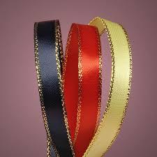 personalized satin ribbon personalized metallic edge ribbon