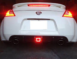 nissan versa fog lights amazon com ijdmtoy jdm style rear fog light led assembly for 2009