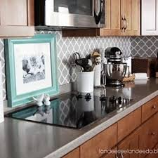 Wallpaper Kitchen Backsplash Make A White Subway Tile Temporary - Wallpaper backsplash