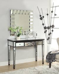 Mirrored Desk Vanity Tips Makeup Mirror With Lights Vanity Table Vanity Set With
