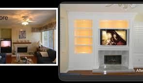 scenic entertainment center custom cabinet home ater built