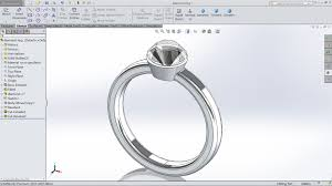 solidworks tutorial diamond ring harlylichuzz cad cam corner