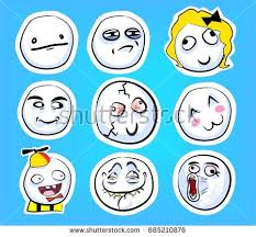 Internet Meme Faces - meme faces download free vector art stock graphics images