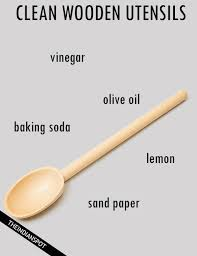 Tips To Clean Wood Kitchen by To Clean Wooden Utensils
