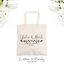 bridal party gift bags personalized wedding tote bag wedding guest bag personalized