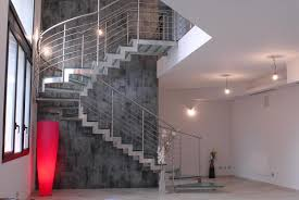 curved glass indoor stair light u2013 classy door design indoor