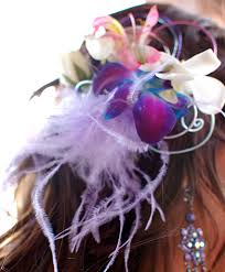 prom accessories purple orchid prom hair clip prom accessories flower shop network