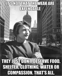 Atlas Shrugged Meme - more things rand never said this stuff is despicable want to know