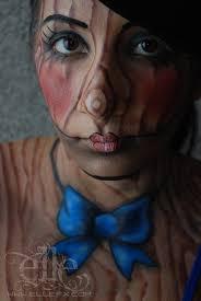 Marionette Doll Halloween Costume Marionette Face Body Paint Ellefx Deviantart Deviantart
