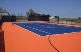 tennis court construction in dallas texas turf and pavers