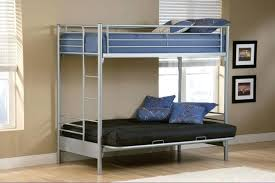 White Futon Bunk Bed Futon Bunk Bed Wood Bemine Co