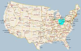 Nba Map Cleveland On Ohio Map Clipart Collection