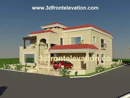 beautiful house plandesign 3d front elevation