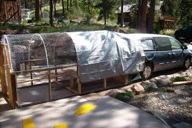 mini van mobile coop backyard chickens