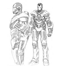 Iron Man 2 Drawing at GetDrawingscom  Free for personal use Iron