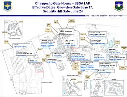San Antonio Texas Map Lackland Afb Gate Hours Changes Center West 2013 Construction