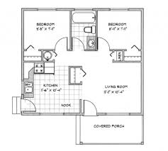 How Big Is 480 Square Feet 100 Cottages Floor Plans Bungalow House Plans Cavanaugh 30