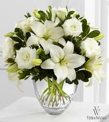 vera wang flowers white elegance bouquet by vera wang pesche s