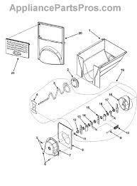 black friday ice auger whirlpool wpd7749401 ice auger end cap appliancepartspros com