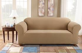 Sure Fit Simple Stretch Subway Box Cushion Sofa Slipcover